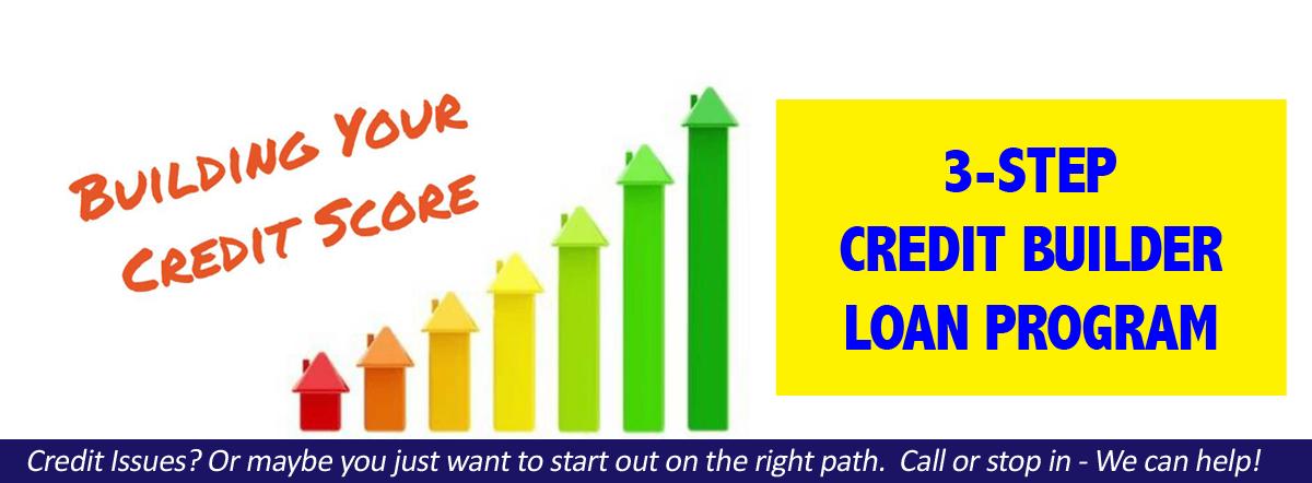 3-Step Credit Builder Loan Program