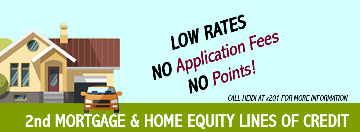 2nd Mortgage and Home Equity Lines of Credit