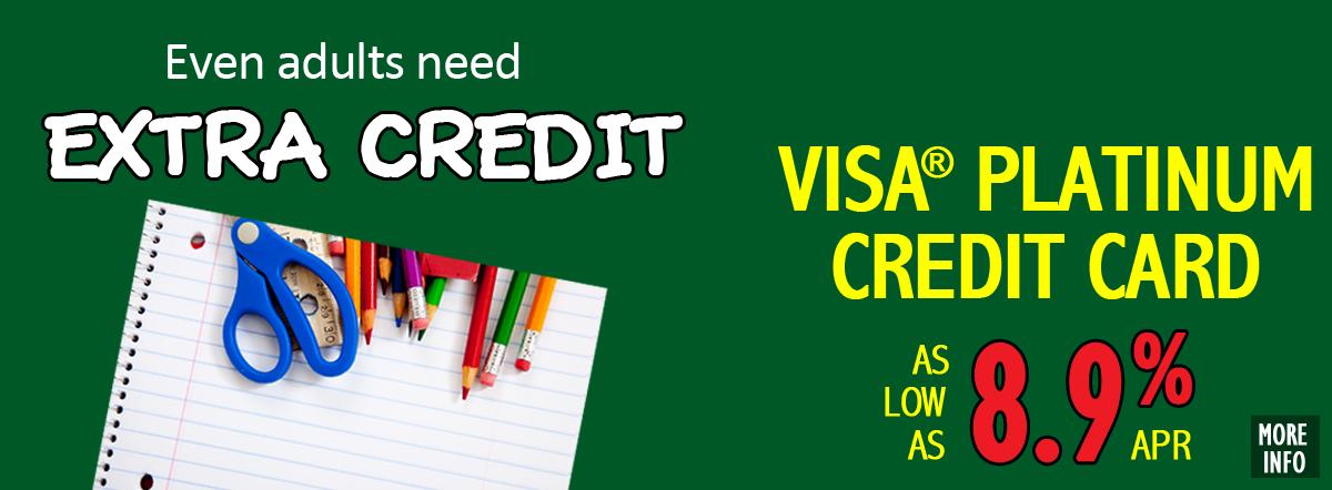 VISA® Platinum Credit Card as low as 8.9% APR